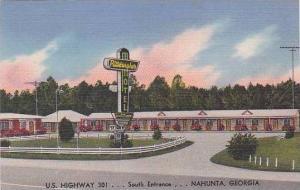 Georgia Nahunta Pittsburgher Motel