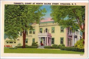 Tubbert's Court, N Salina St. Syracuse NY