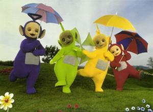 British Pre-School Children's Television Series TELETUBBIES (1996) 3