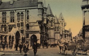 LONDON, England, 1900-1910s ; The Law Courts ; TUCK 5923