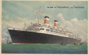 American Export Lines s.s. Independence & s.s. Constitution , 30-50s
