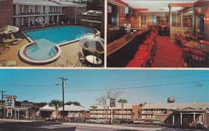 Swimming Pool, Interior Restaurant, Rodeway Inns of America, Captian's Table ...