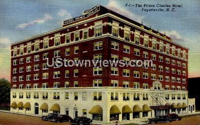 The Prince Charles Hotel Fayetteville NC Unused
