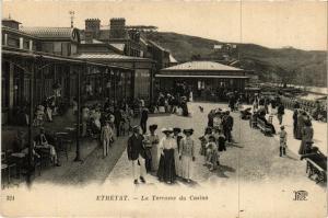 CPA ETRETAT-La Terrasse du Casino (347730)