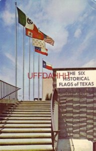 The SIX FLAGS OF TEXAS, historical from 1519 to the PRESENT 1970
