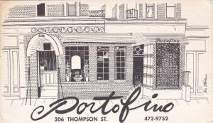 Ristorante Portofino , 206 Thompson Street , New York , City , 30-50s