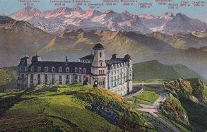 Mountains of SWITZERLAND, 1900-10s