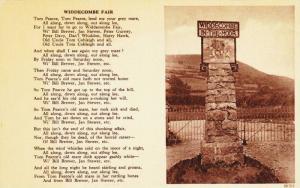 Widdecombe-in-th-Moor Fair Poem, Devon, England, United Kingdom, 00-10s