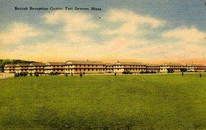 MA - Fort Devens. Recruit Reception Center