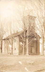 F1/ Constantia New York NY Real Photo RPPC Postcard 1917 Trinity Church
