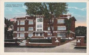 Senior High School Chanute Kansas