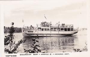 RP: Excursion Boat ARGYLE II , KENORA , Ontario , Canada , 30-40s
