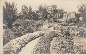 RP: LA JOLLA , California, 1910s ; Home & Garden