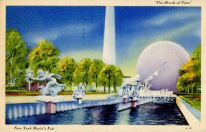 NY - 1939 World's Fair. The Moods of Time