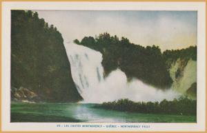 Quebec, Ontario, Canada-Montmorency Falls