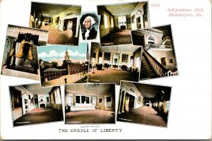 Vintage Postcard Liberty, Independence Hall, Philadelphia, Pa. WASHINGTON