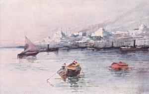 CONSTANTINOPLE , Turkey  , 00-10s ; Serailpoint at sun rise