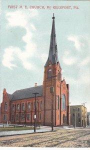 McKEESPORT, Pennsylvania, 1900-10s; First M.E. Church