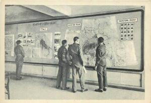 Italy Rome Alexander Club education section & war maps
