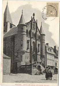 CPA   Espalion  - Hotel de Ville (ancienne Église)  (174026)
