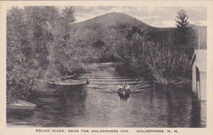 New Hampshire Squam River Near Holderness Inn Albertype sk796