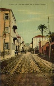 lebanon, BEIRUT BEYROUTH, Grande Rue du General Gourand (1910s) Au Bon Marché