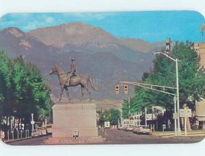 Unused Pre-1980 MONUMENT SCENE Colorado Springs Colorado CO F1673-12