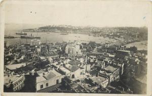 Turkey Istanbul Stamboul panorama la Point du Serail 1932 carte photo