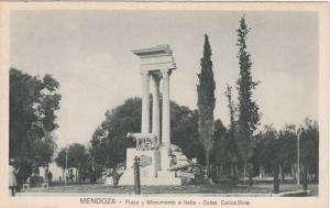 Plaza Y Monumento A Italia, Mendoza, Argentina, 1910-1920s