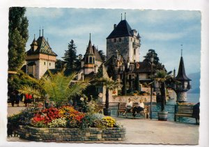 Switzerland, SCHLOSS OBERHOFEN, used Postcard