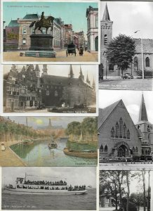 Netherlands - Den Haag Zaandam Zierikzee And More Postcard Lot of 26 01.05