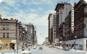 Omaha NE~Ranks Post-WWII Army Store~Hotels Hill & Rome~Davison's~Aquila~1951 PC