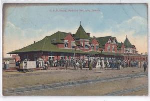 C.P.R. Depot, Medicine Hat, Alta