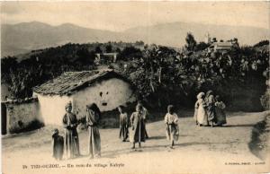 CPA Geiser 24 Tizi Ouzou Un coin du village Kabyle ALGERIE (756434)