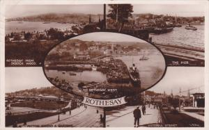 RP: ROTHESAY, 5-view postcard, Argyll and Bute, Scotland, UK, PU-1925