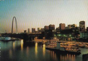 Saint Louis Riverfront At Twilight Washington DC
