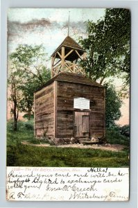 Lexington MA, Historic Old Belfry Memorial, Vintage Massachusetts Postcard