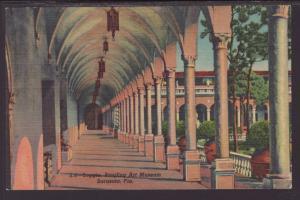 Loggia,Ringling Art Museum,Sarasota,FL Postcard