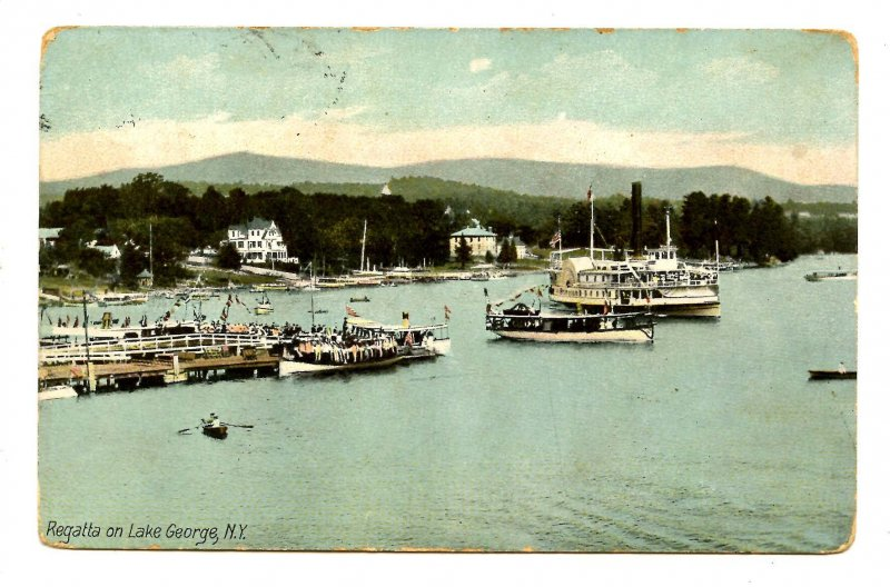 NY - Lake George. Regatta