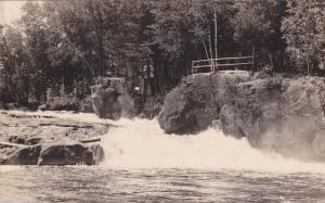 RP, Big Smoky Falls On Wolf River, Route 55, Wisconsin, 1920-1940s