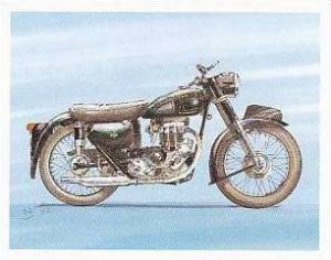 Newmarket Hardware Vintage Trade Card Britains Finest Bikes 1993 No 1 A J S 1...