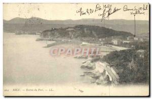 Old Postcard Nice Port of Entry