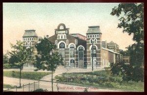 dc1607 - OTTAWA Ontario Postcard 1910s Drill Hall by Hope