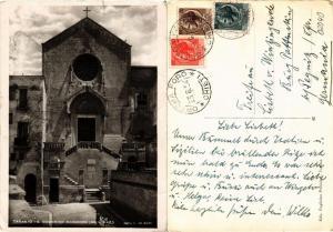 CPA AK TARANTO S. Domenico Maggiore Mon. Naz. ITALY (531522)
