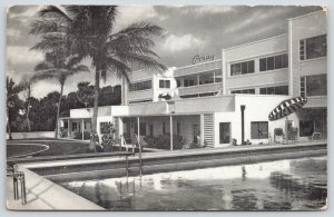 Palm Beach FL~Foray Art Deco Apartment Hotel~Driving Range~Horseshoes~Pool 1968