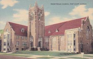 Kansas Fort Scott Presbyterian Church