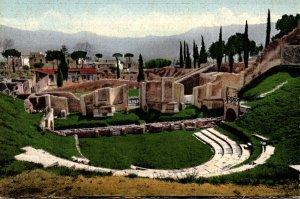 Italy Pompei The Open Theatre