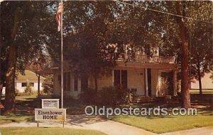 Ike Eisenhower, Boyhood Home Abilene, KS, USA Unused