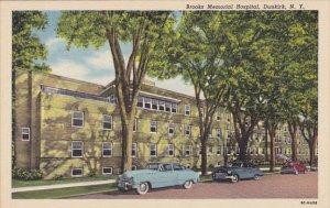 Brooks Memorial Hospital Dunkirk New York Curteich