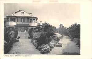 Spain Old Vintage Antique Post Card Hotel Reina Cristina Algeciras Unused